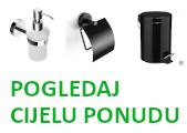 Kante za smeće, WC četke, Dozatori sapuna, Ostali Držači...