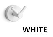 Kapitan WHITE kupaonski držači